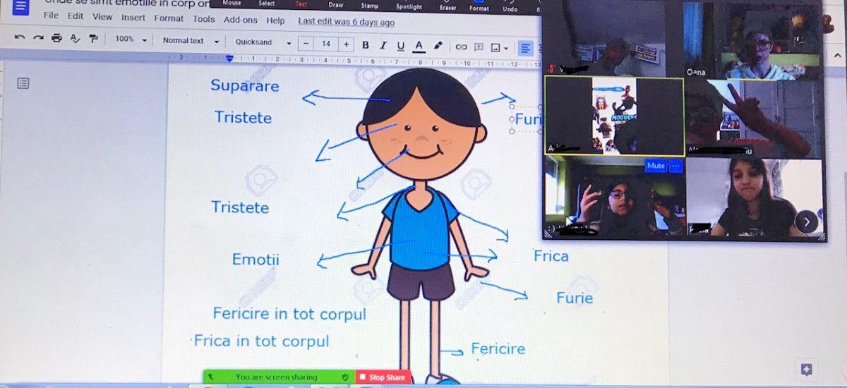 Ateliere online pentru copii